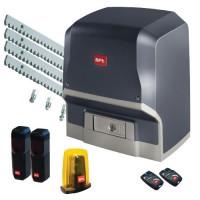 Kit automatizare poarta culisanta , ARES 1000 + 2 MITTO 2 + 4 CVZ + LAMPA + FOTOCELULE