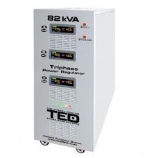 Stabilizator Ted 82KVA-SVC cu servomotor trifazat
