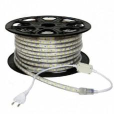 electrice ialomita - banda led 220v 60led/m 14.4w/m ip65 r5050 6400k - odosun - od6653