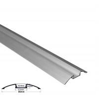 Profil aluminiu,pentru banda LED, aparent, OVAL, 1m